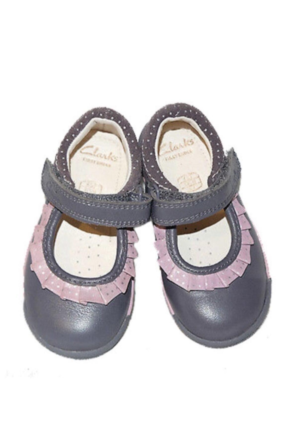 CLARKS Kız Çocuk 0-2 Yaş Ayakkabı Ortopedik 18-24 1