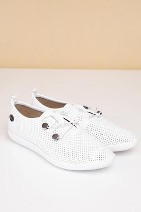 Pierre Cardin PC-50093 Beyaz Kadın Ayakkabı