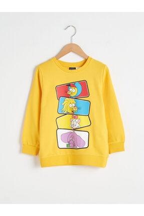LC Waikiki Kral Şakir Erkek Çocuk Orta Sarı Fw9 Sweatshirt