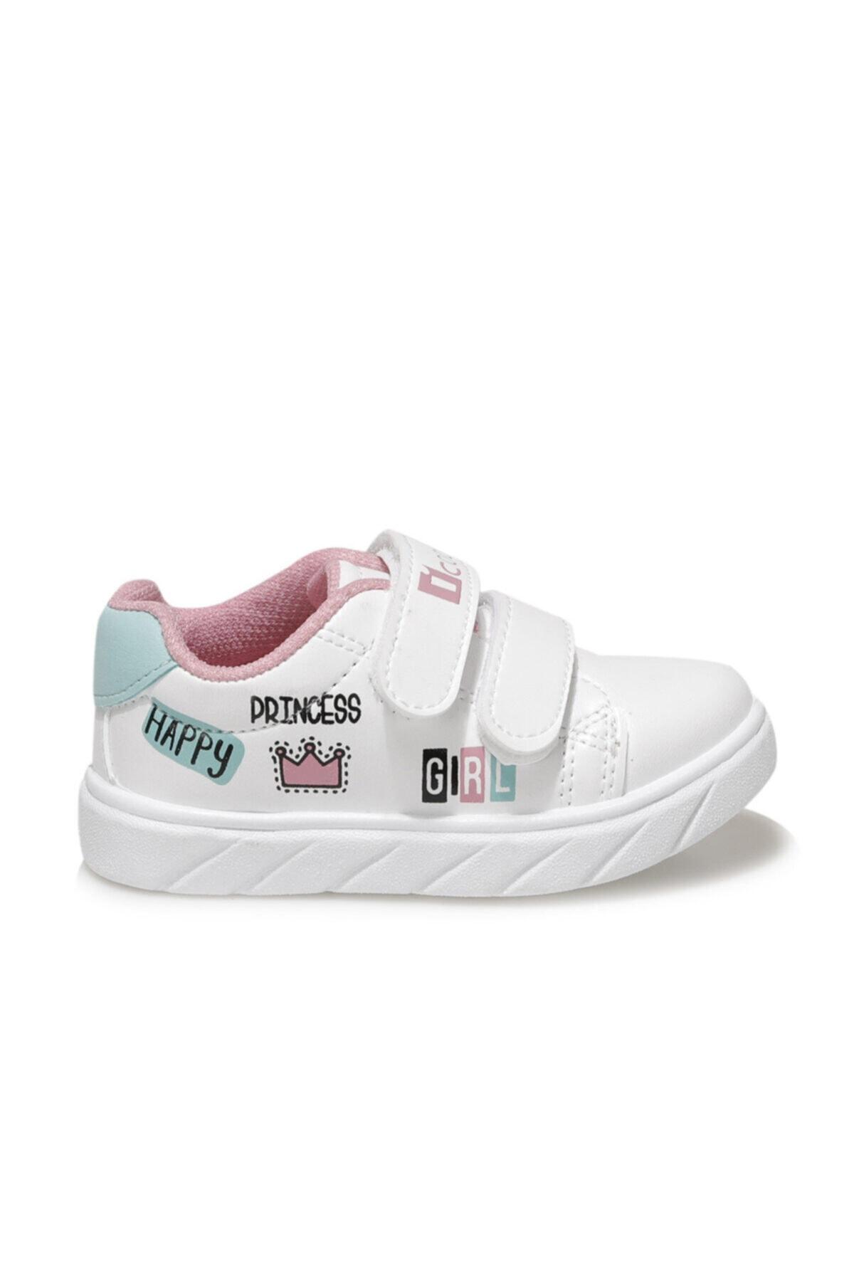 I COOL PRINCESS Beyaz Kız Çocuk Sneaker Ayakkabı 100664317 2