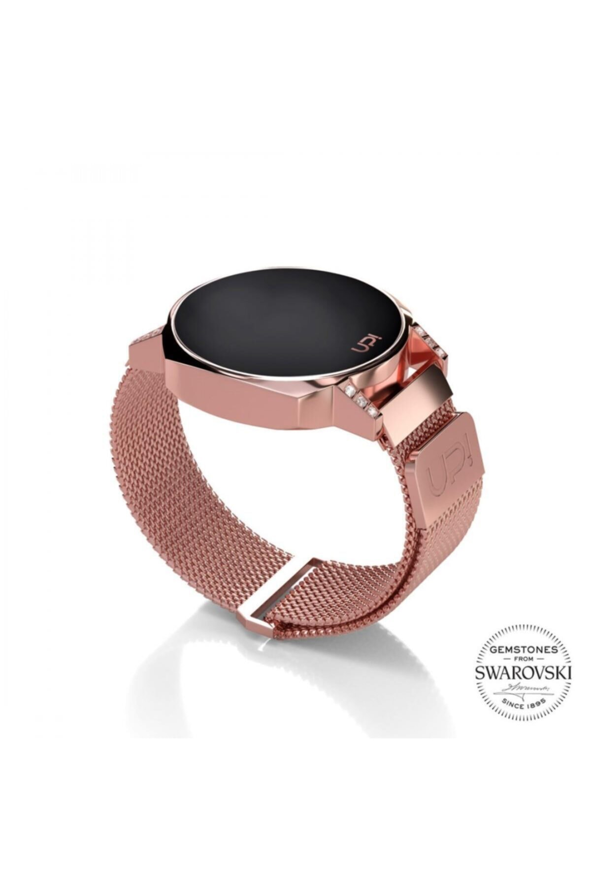Up! Watch Upwatch 1764 Next Mini Rose Gold Swarovski Topaz 1
