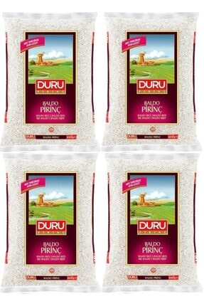Duru Baldo Pirinç 1 Kg X 4 Adet