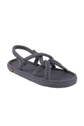 Nomadic Republic Bora Bora Erkek Halat Sandalet - Gri