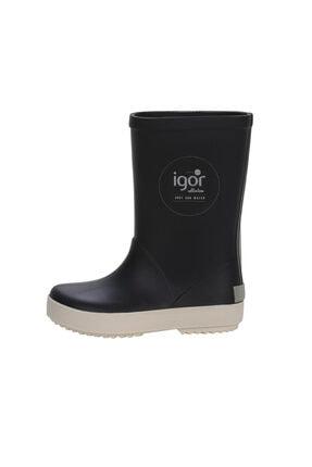 IGOR SPLASH NAUTICO Lacivert Unisex Çocuk Yağmur Çizmesi 100317970