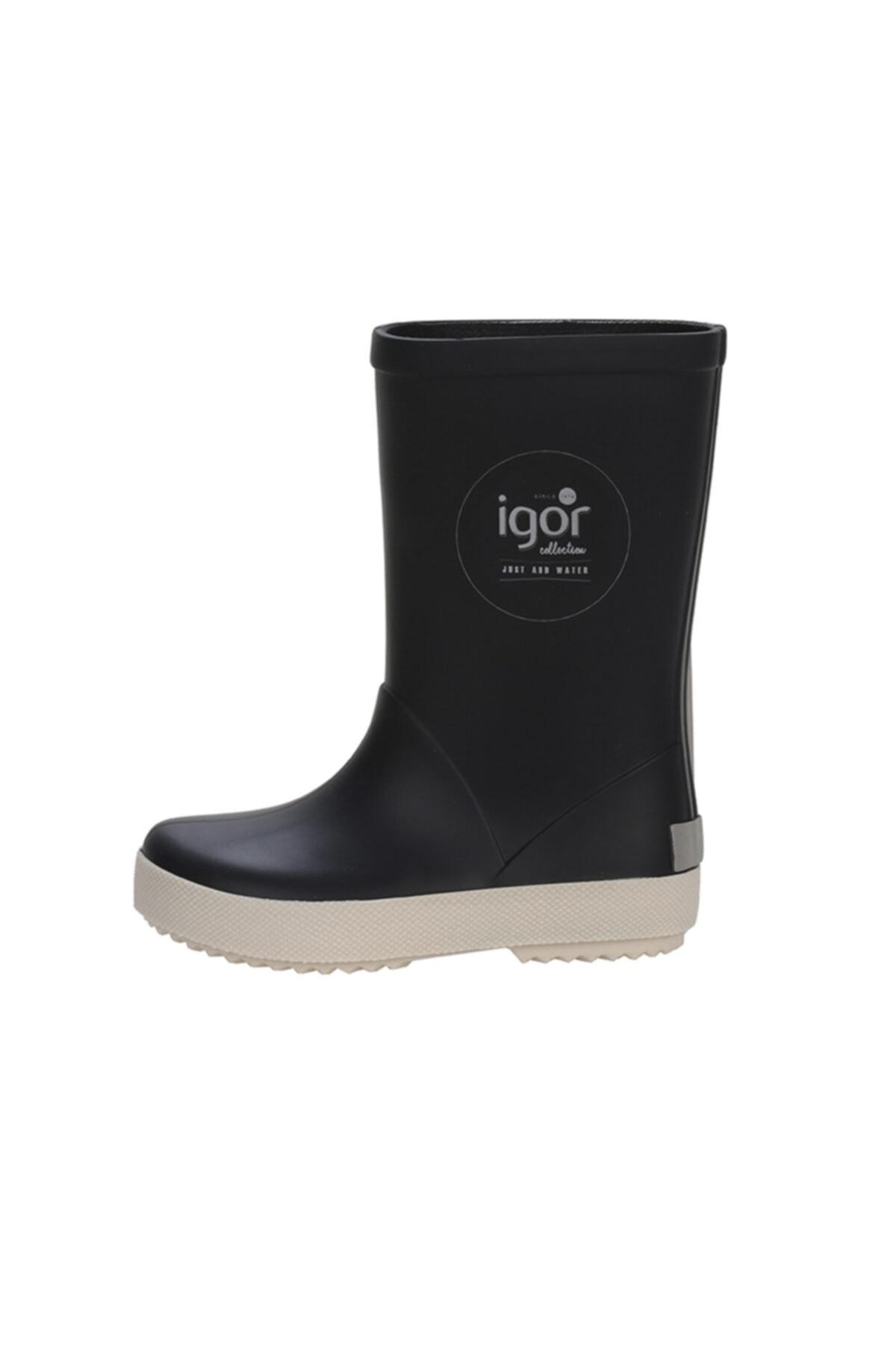 IGOR SPLASH NAUTICO Lacivert Unisex Çocuk Yağmur Çizmesi 100317970 1
