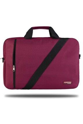 Classone Bnd205 Eko Serisi, 15.6 Inç Uyumlu Laptop, Notebook El Çantası -bordo