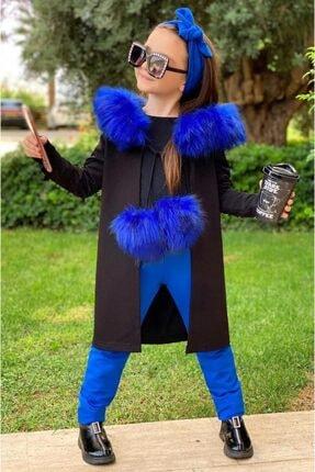 Riccotarz Kız Çocuk Tavuskuşu Işlemeli Ceketli 5li Alt Üst Takım