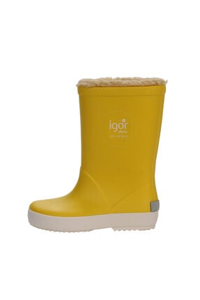 IGOR SPLASH NAUTICO BORREGUITO Sarı Kız Çocuk Yağmur Çizmesi 100518770