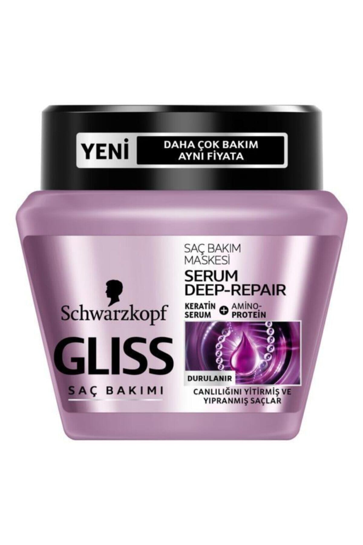 SCHWARZKOPF HAIR MASCARA Serum Deep Repair Maske 300 Ml 2332019 1