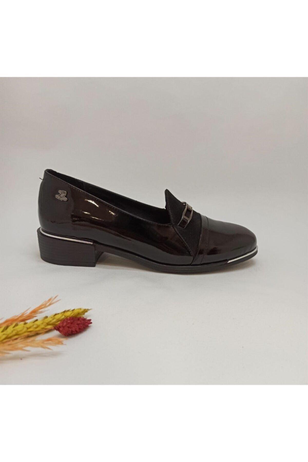 Venüs Bayan 1954118 Rugan Ayakkabı 1