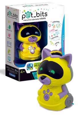 CLEMENTONI Pet Bits Interaktif Robot Oyuncak 50127 Kedi Cat_bit Pc166