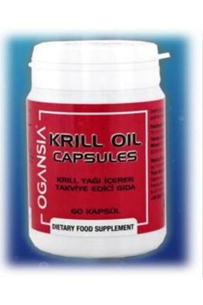 OGANSIA Krill Oil 60 Kapsül Ogansia Krill Oil Yağı