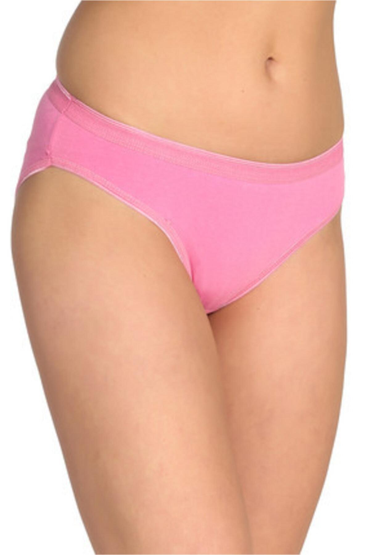 Tutku Kadın 12'li Paket Bikini Külot 1