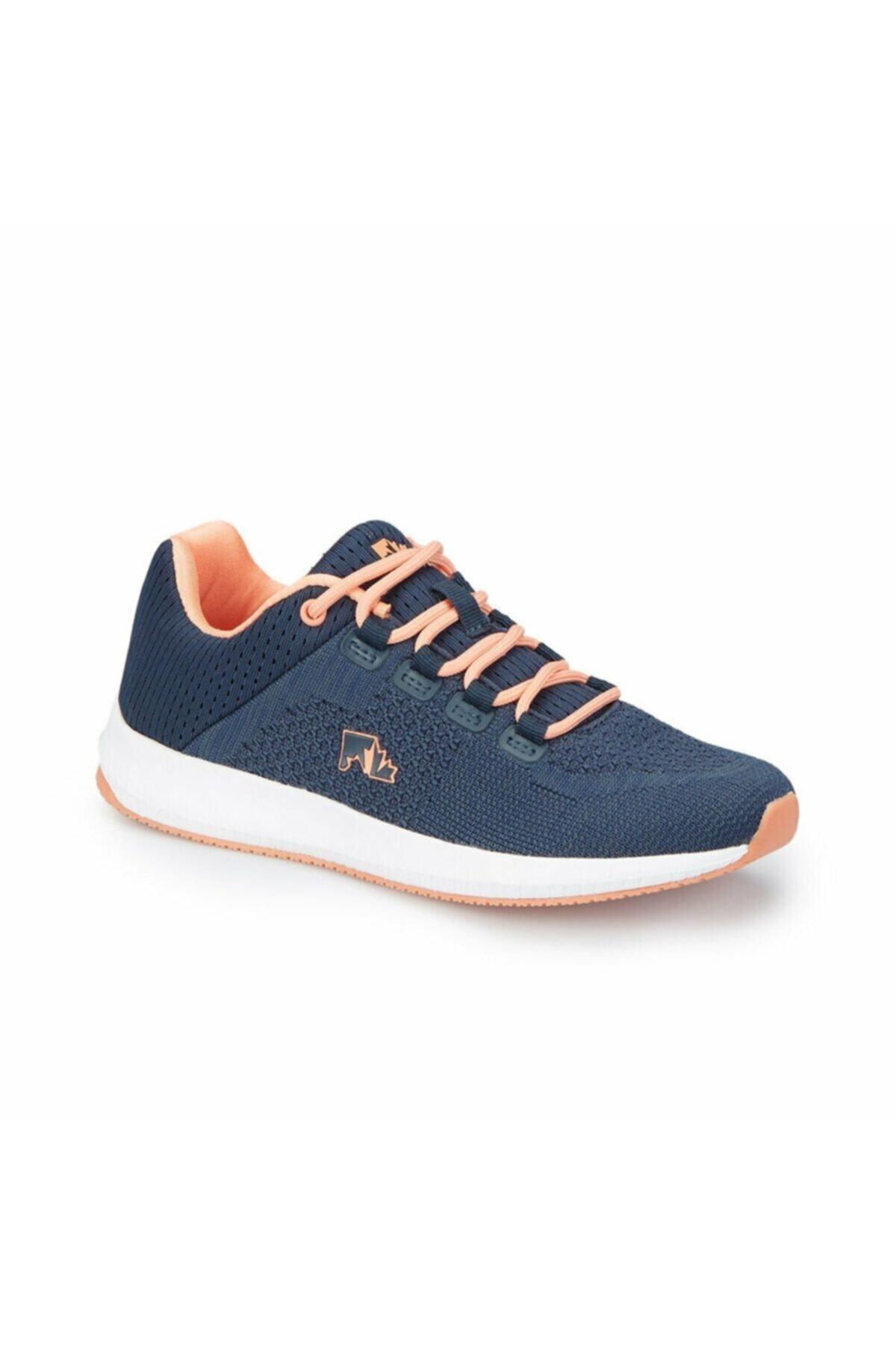 lumberjack ALE WMN Lacivert Turuncu Kadın Sneaker 100236638 1