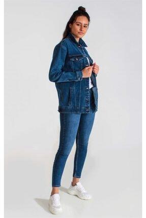Collezione Kadın Mavi Ceket