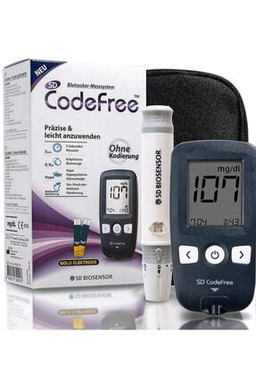 SD Codefree Kan Şeker Ölçüm Cihazı