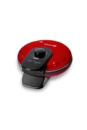 KORKMAZ Mia Kırmızı Waffle Makinesi