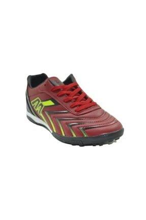 MP 201-1107 Halı Saha Çim Unisex Futbol Ayakkabı - M.p - Kırmızı - 37