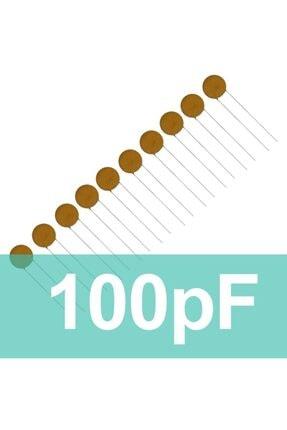 Robocombo 100pf Seramik Kondansatör (10 Adet)
