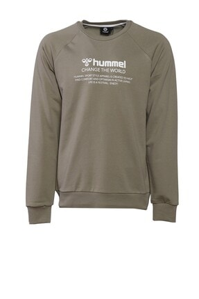 HUMMEL HMLNUMAS Haki Erkek Sweatshirt 101085921