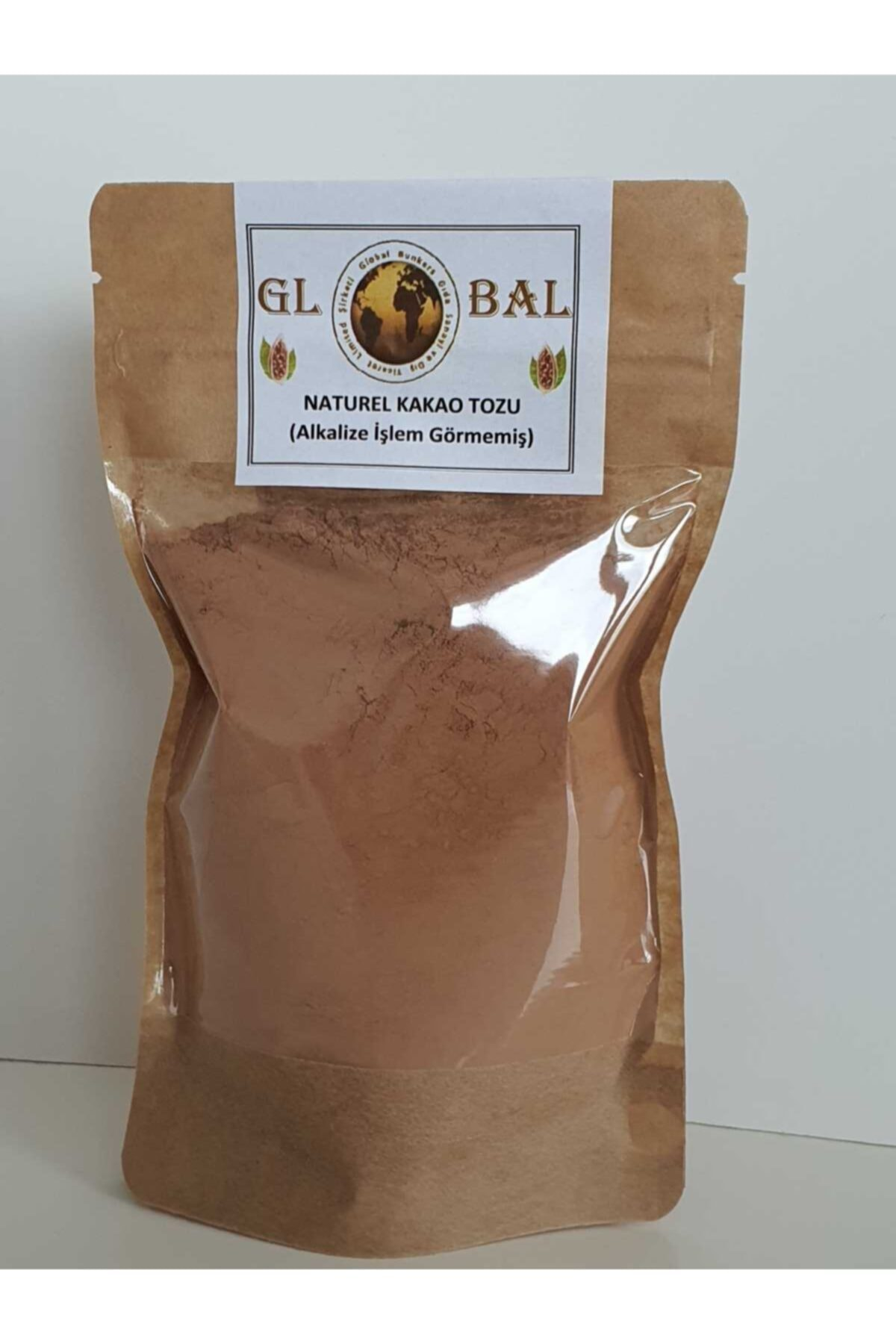 Global %100 Naturel Ham Kakao Tozu –alkalize Işlem Görmemiş 150 gr 1
