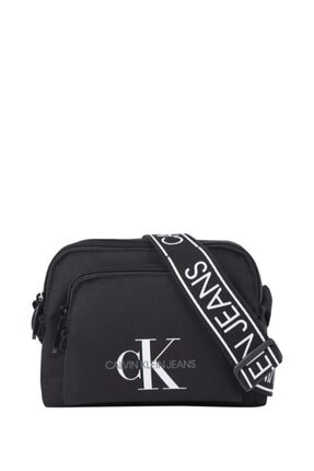 Calvin Klein Kadın Siyah Postacı Çantası Camerabag W/pckt