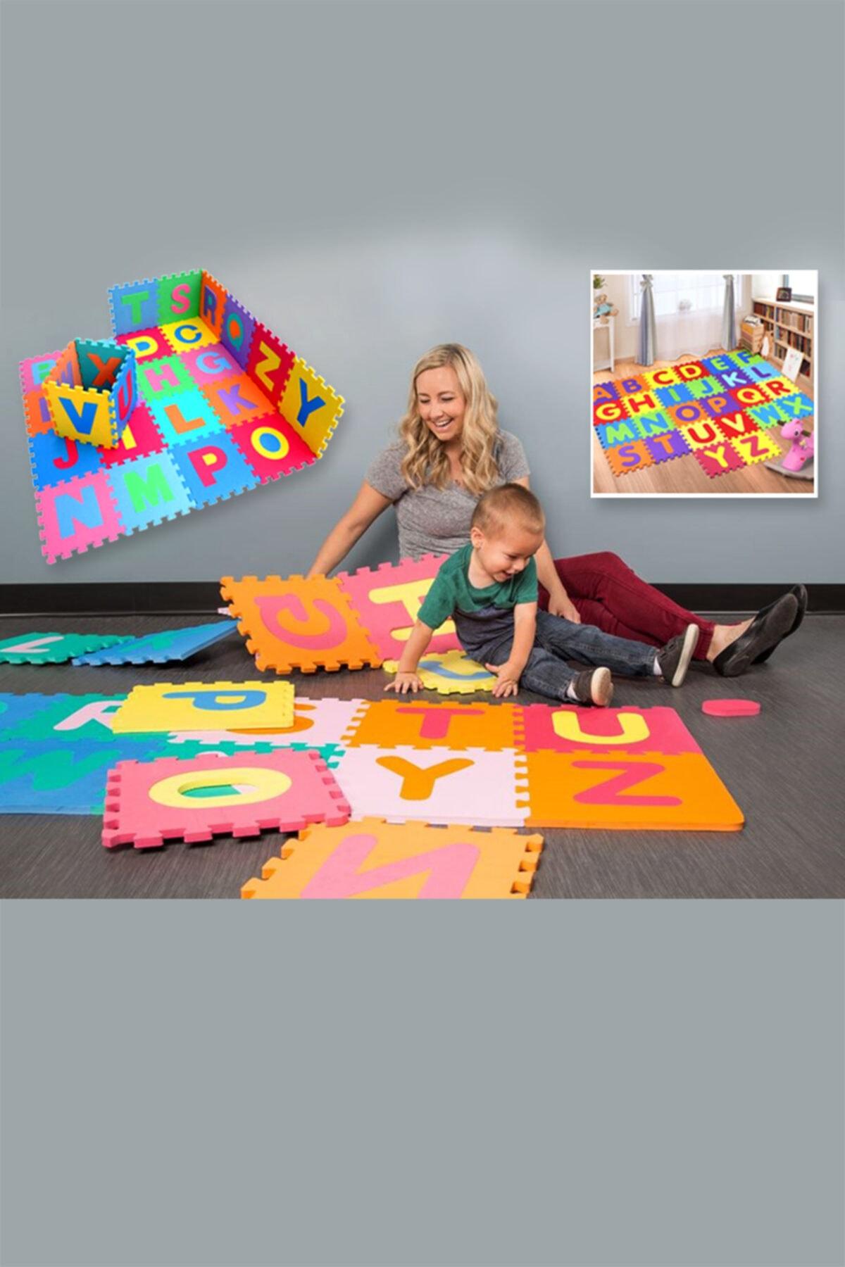 ZK Toys Eva Türkçe Alfabe Seti 29 Harf Oyun Halısı Yer Matı Dev Puzzle 2