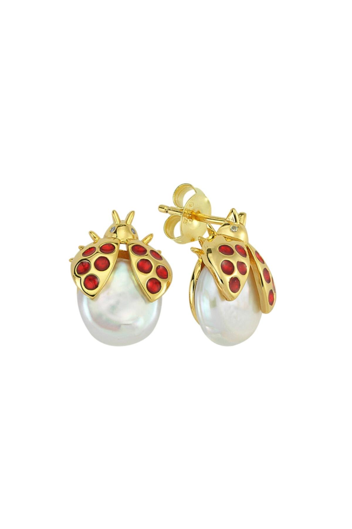 Luzdemia Ladybug Earr. 925 1