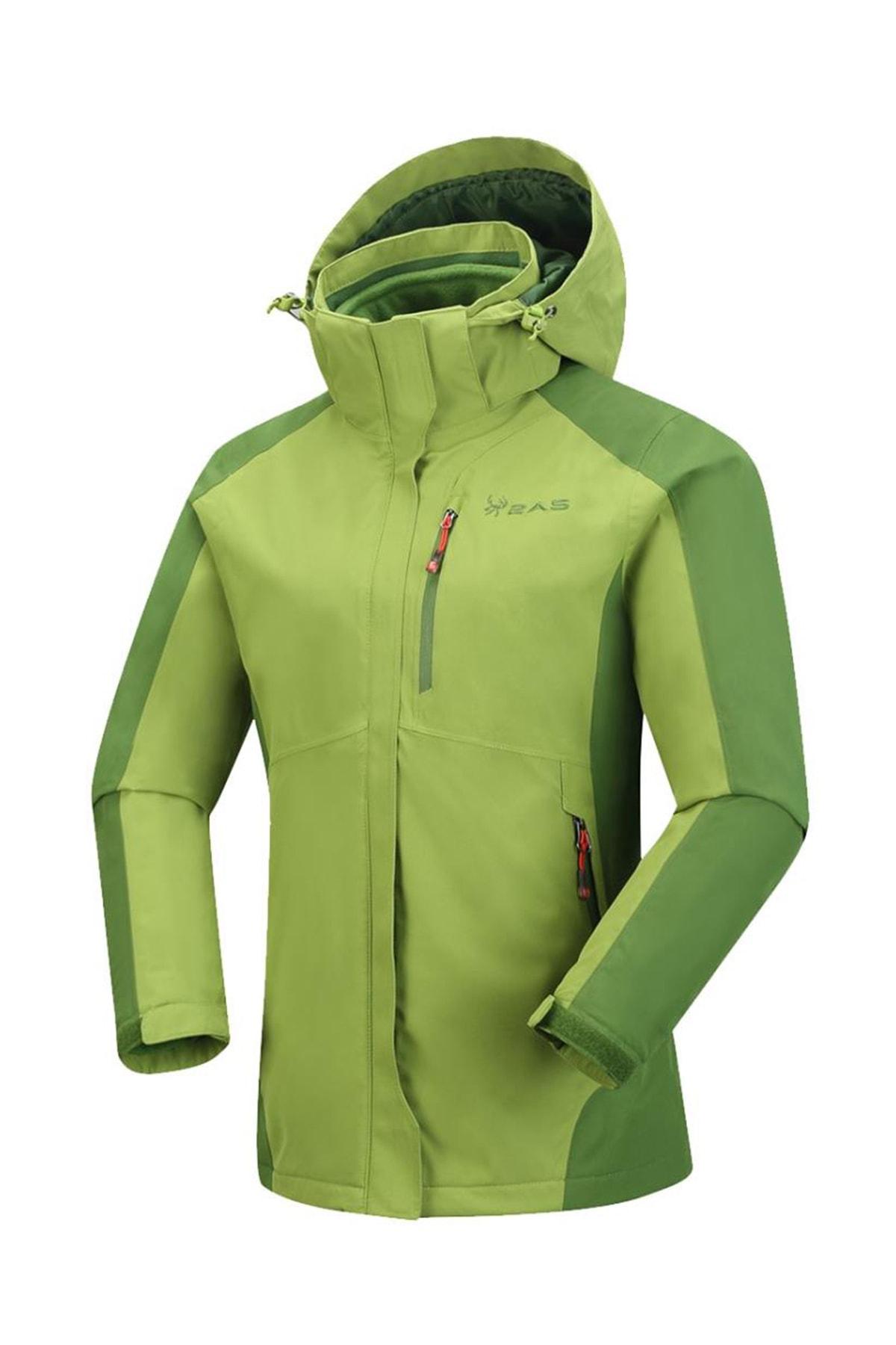 2AS Sparkle Kadın 3in1 Mont Yeşil 1