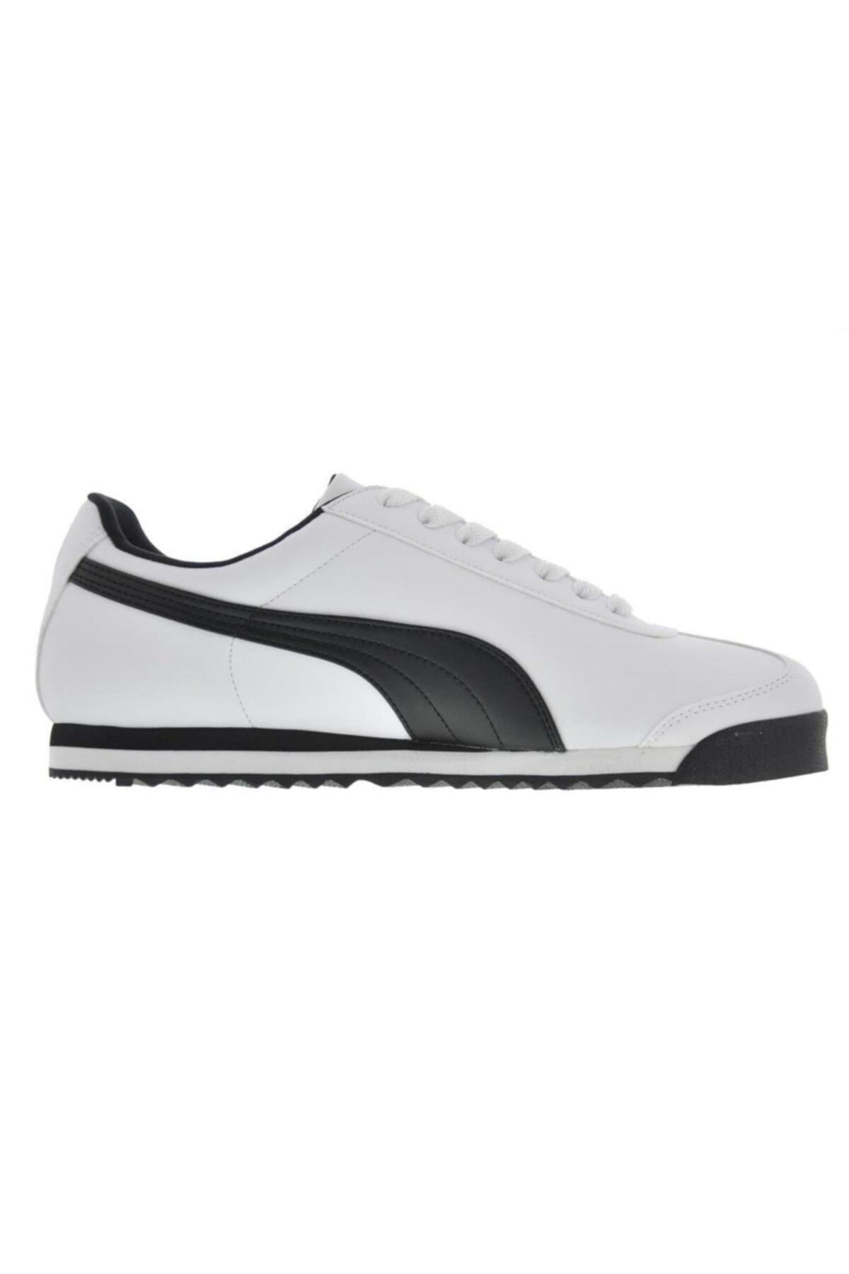Puma Erkek Beyaz Roma Basic Co Spor Günlük Ayakkabı 353572-04 1