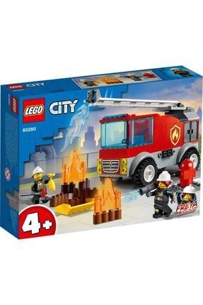 LEGO City Merdivenli Itfaiye Kamyonu 60280