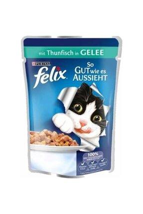 Purina Felix Felix Pouch Ton Balıklı Yaş Kedi Maması 100 Gr X 5 Adet