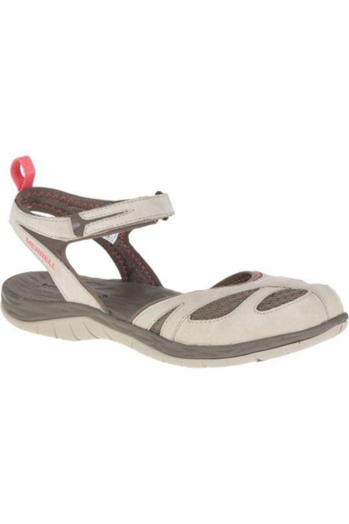 Merrell J37484 Siren Wrap Q2 Aluminum Kadın Sandalet 1