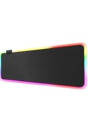 MASTEK Işıklı Siyah Oyuncu Mousepad 70x30 Cm