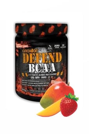 Grenade Defend Bcaa 390 Gr Çilek Mango Aromalı Kas Güç Enerji Dayanıklılık Glutamin