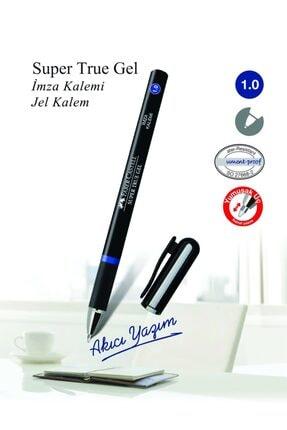 Faber Castell Super True Gel Imza Kalemi 1 0 Mm Mavi