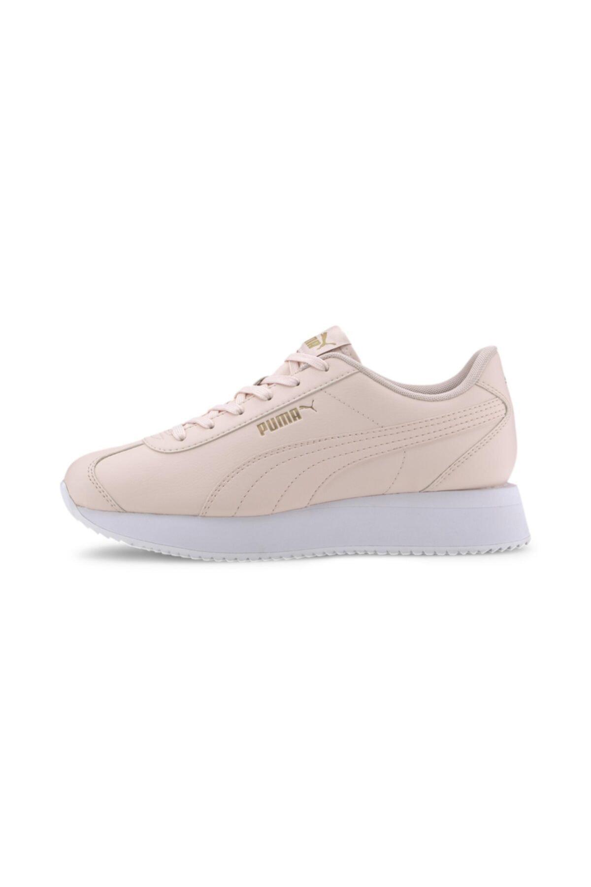 Puma TURINO STACKED-2 Pudra Kadın Sneaker Ayakkabı 100547482 1