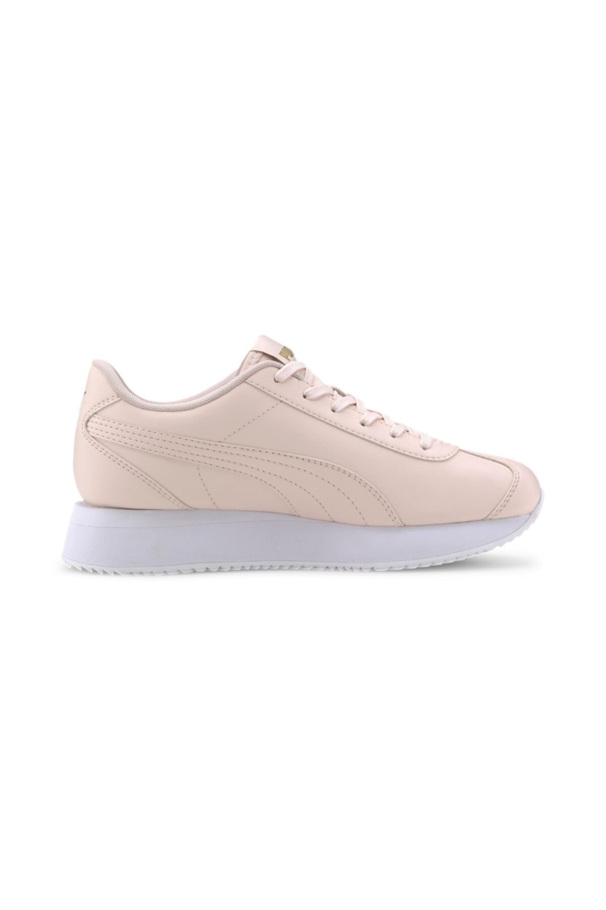 Puma TURINO STACKED-2 Pudra Kadın Sneaker Ayakkabı 100547482 2