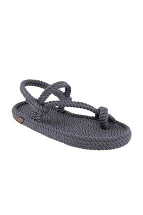 Nomadic Republic Hawaii Erkek Halat Sandalet - Gri