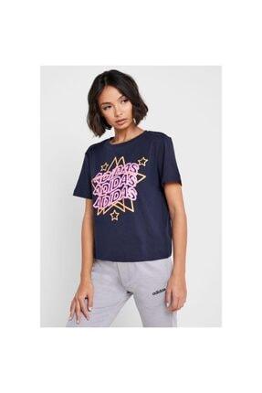 adidas Fj5018 W Mhg Star T Kadın T-shirt