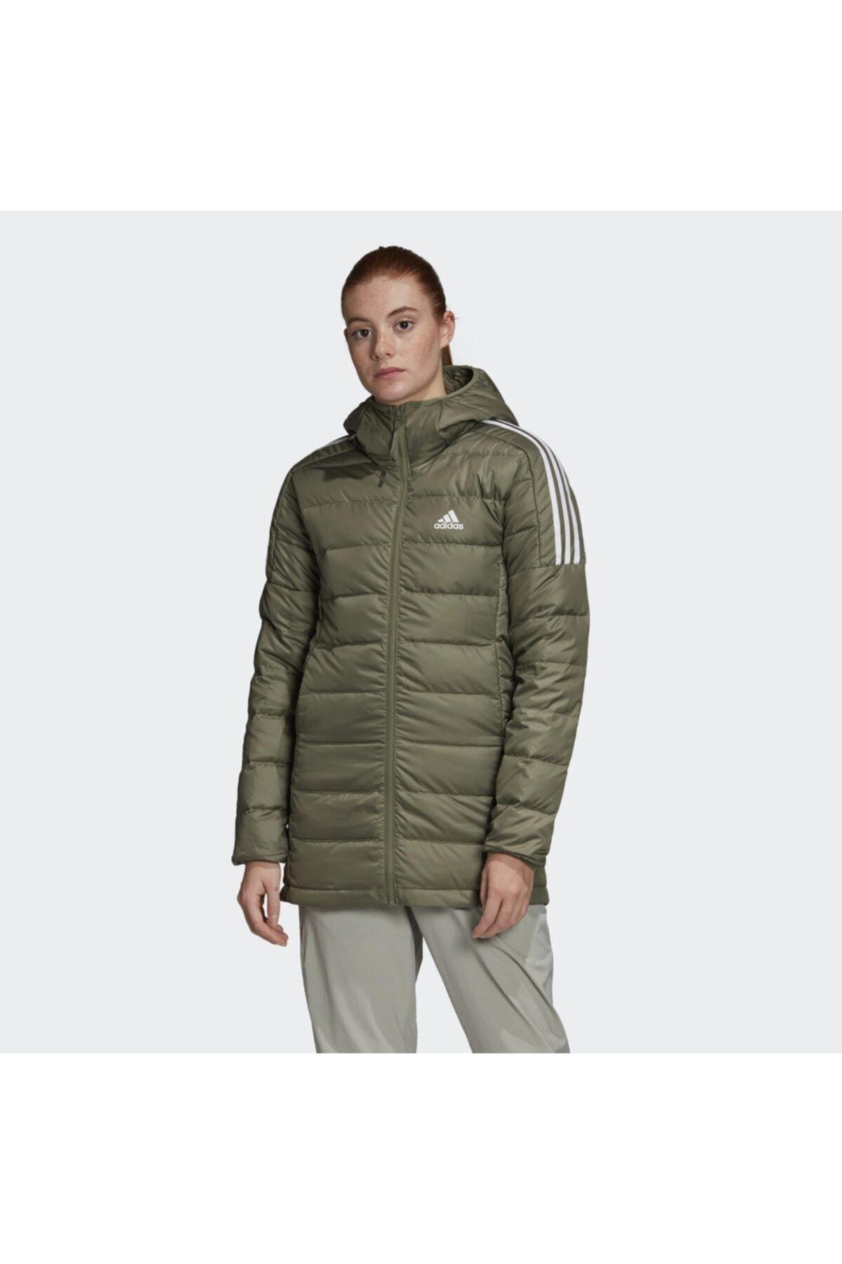 adidas Essentials Down Hooded Kadın Parka Gh4591 1