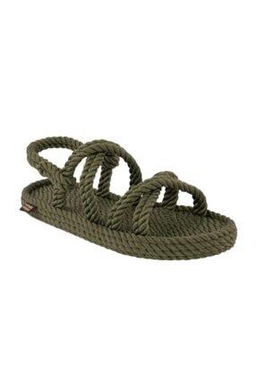 Nomadic Republic Tahiti Erkek Halat Sandalet - Haki