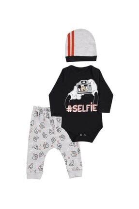 Miniworld Erkek Bebek Selfie 3'lü Takım