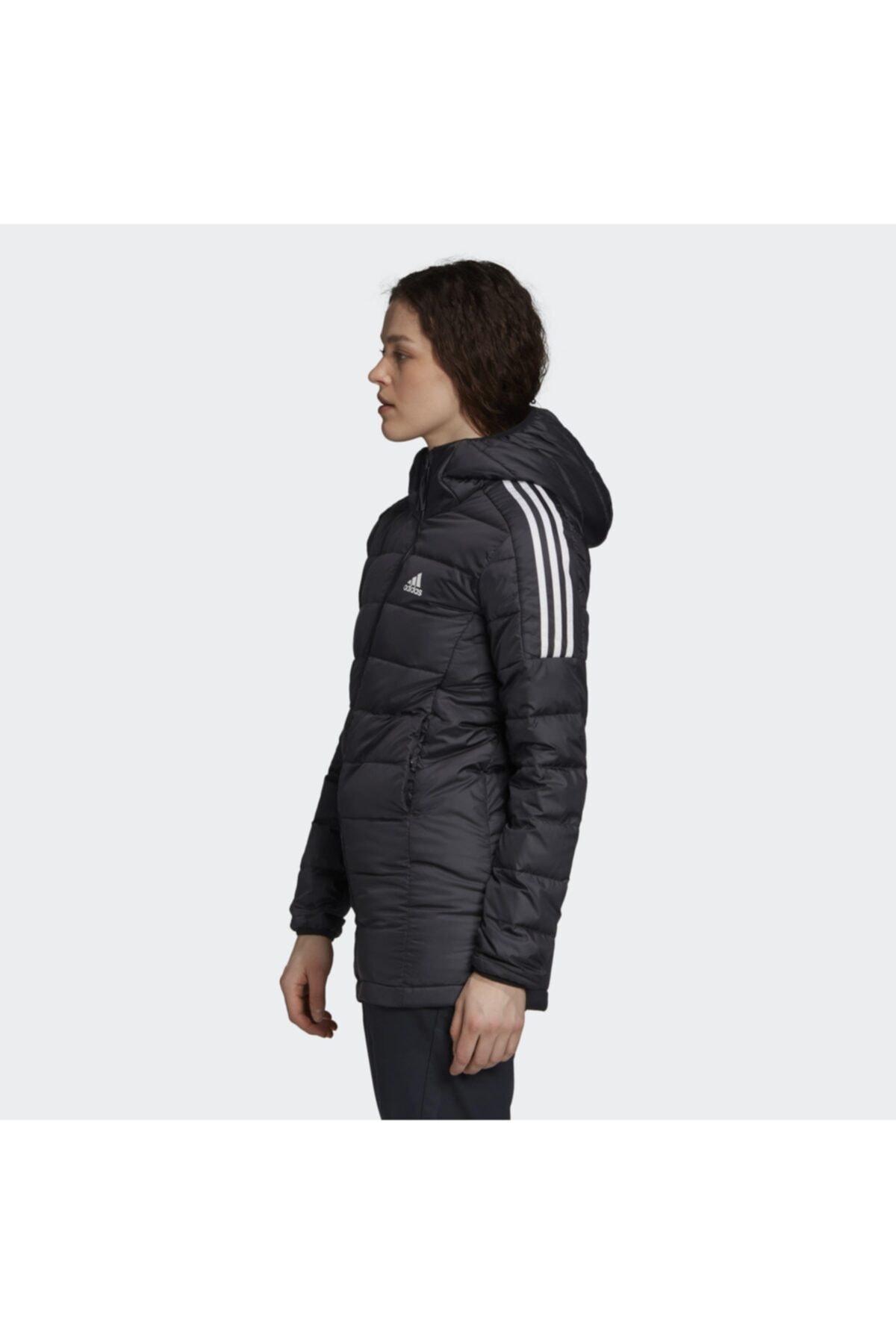 adidas Essentials Down Hooded Kadın Parka Gh4590 2