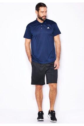 adidas Base Plain Erkek Lacivert Polo Tişört Aj8090