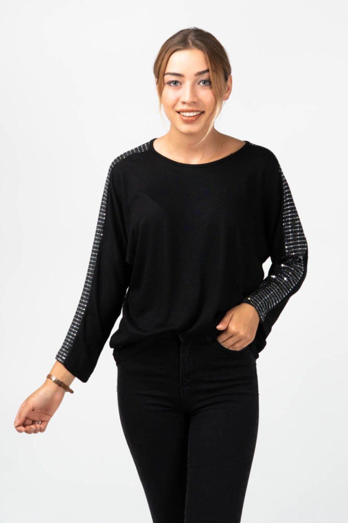 CNS Taş Detaylı Bluz 1