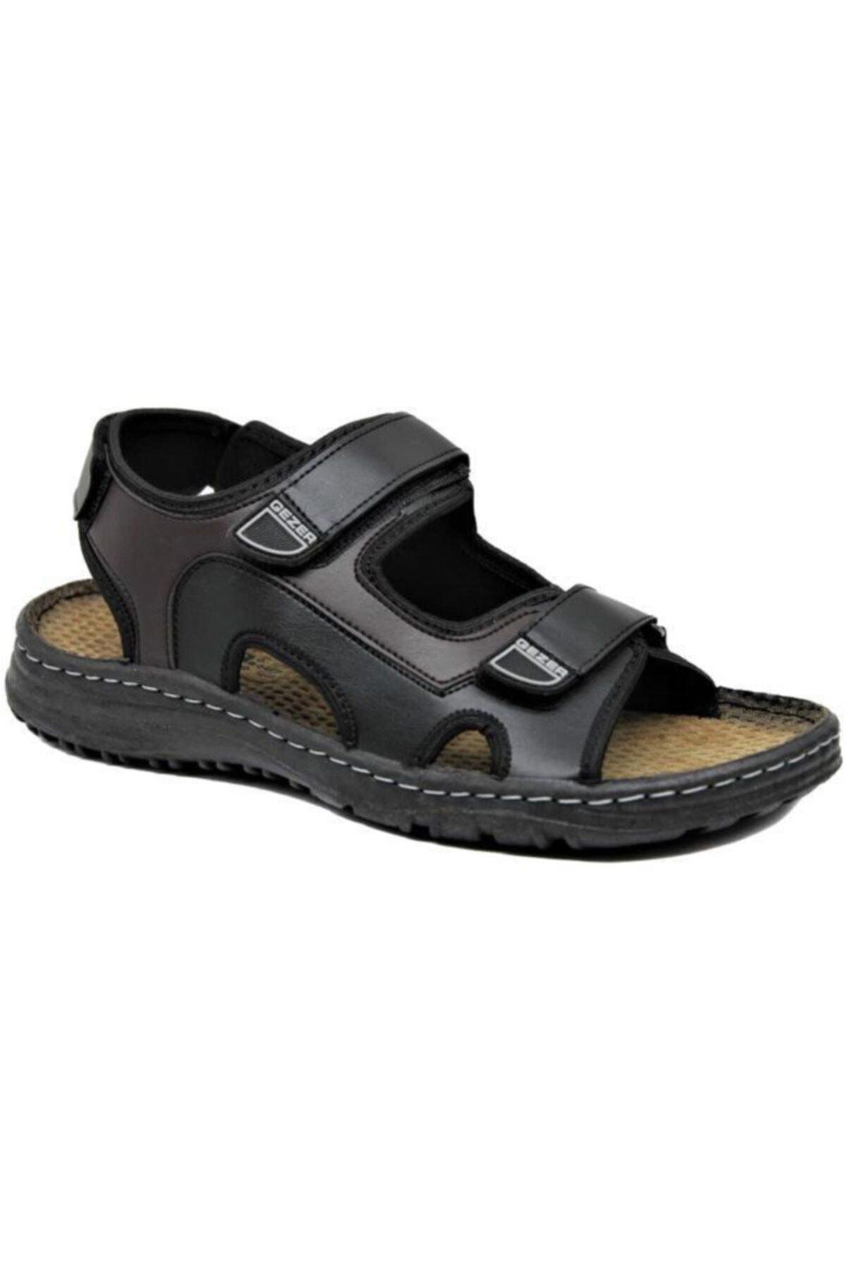 GEZER 0032 Erkek Anatomik Sandalet 1