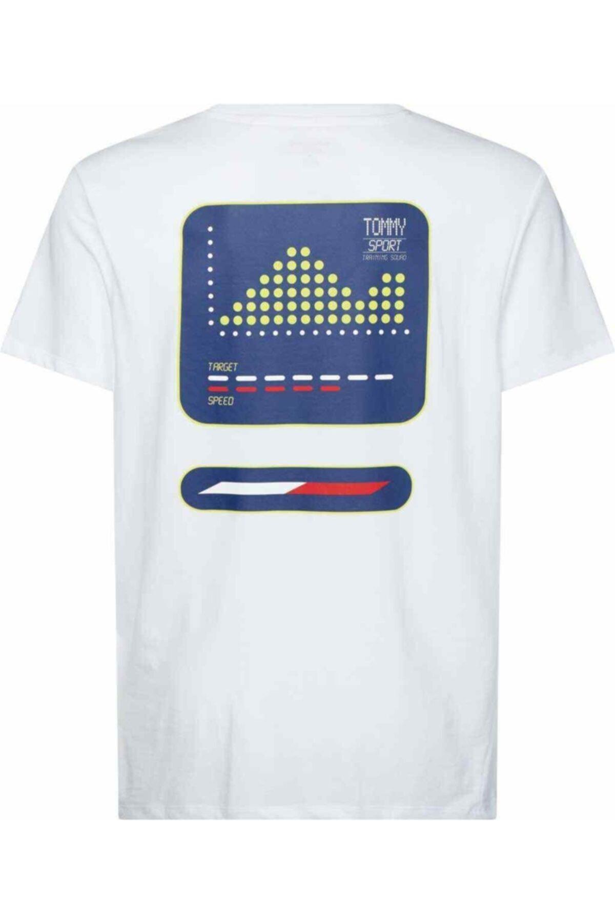 Tommy Hilfiger Erkek Th Baskılı T-shirt 1