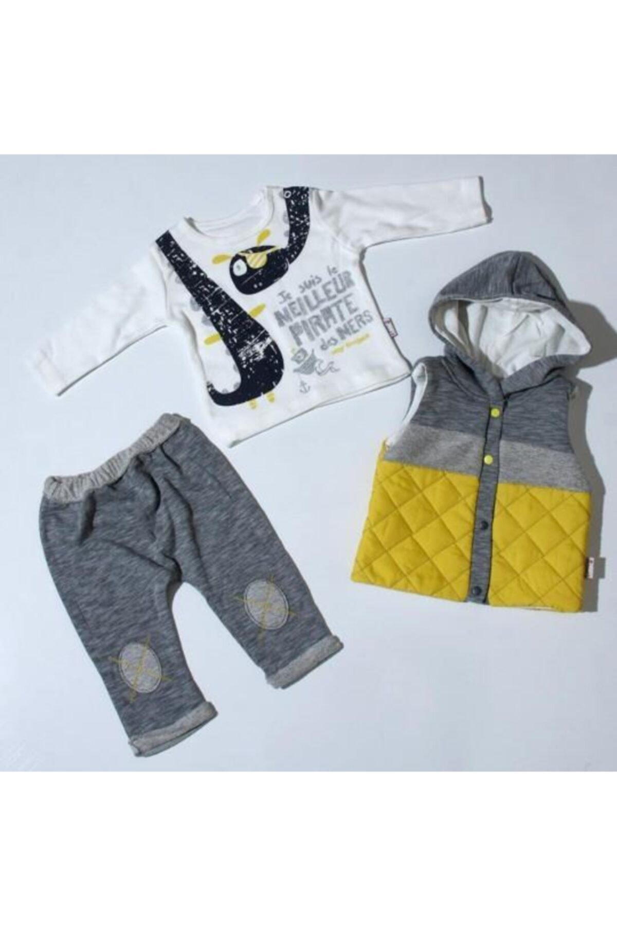 Miniworld Hippıl Baby 1061 Erkek 3 Parça Takım 1