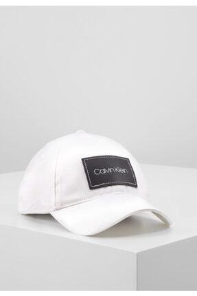 Calvin Klein Beyaz Şapka